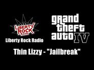 "GTA IV (GTA 4) - Liberty Rock Radio - Thin Lizzy - ""Jailbreak"""