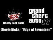 "GTA IV (GTA 4) - Liberty Rock Radio - Stevie Nicks - ""Edge of Seventeen"""