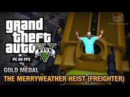 GTA 5 Mission 30 The Merryweather Heist (PC)