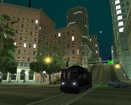 Кольцевая трамвайная система Сан-Фиерро