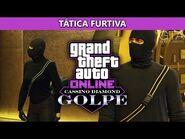GTA Online - O Golpe do Cassino Diamond- Tática Furtiva (Indetectável e Desafio de Elite)