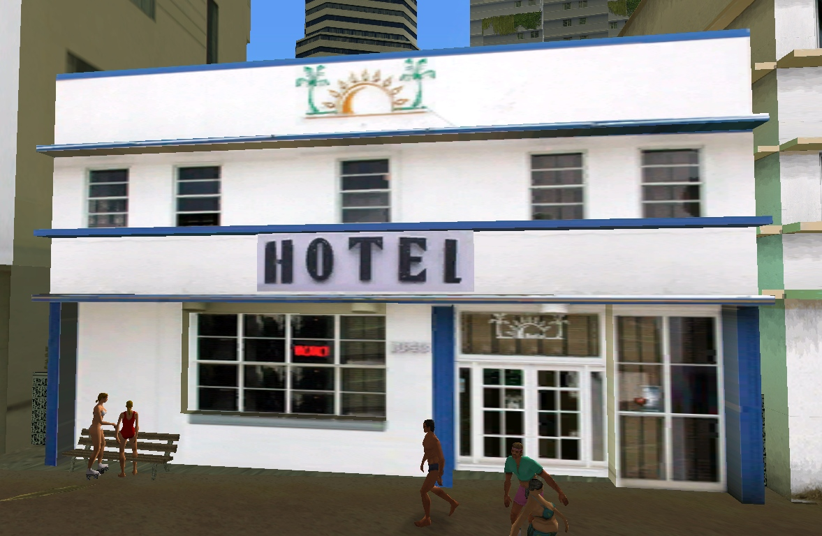 Hotel w Washington Beach