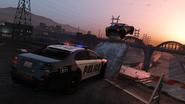 Police Chase-GTA V