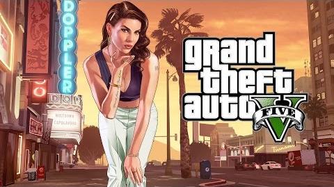 """Grand Theft Auto V """"Une barrière et un chien nommé Skip"""""""