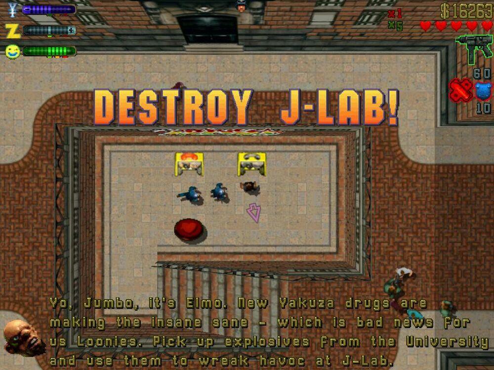 Destroy J-Lab!