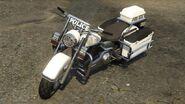 Policyjny motocykl (V)