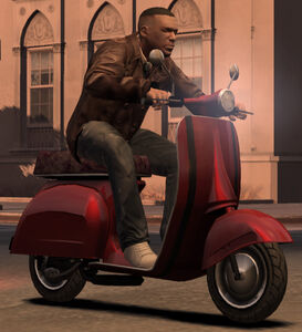 Faggio GTA The Ballad of Gay Tony