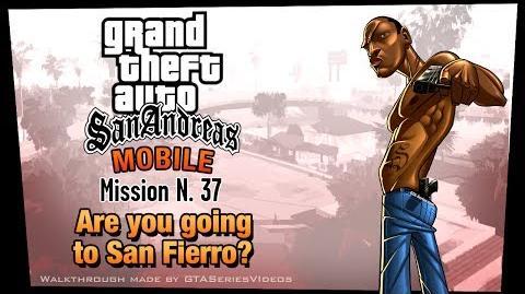 GTA San Andreas - iPad Walkthrough - Mission 37 - Are you going to San Fierro? (HD)