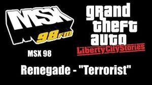 "GTA Liberty City Stories - MSX 98 Renegade - ""Terrorist"""
