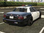 Police Cruiser Stanier arrière GTA V