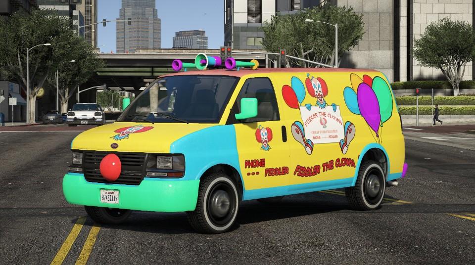 Clown Van