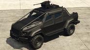 Insurgent armé vue avant GTAO