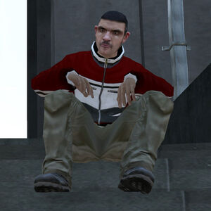 SittingAlbanianMobster