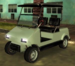 Caddy GTA Vice City Stories (vue avant)