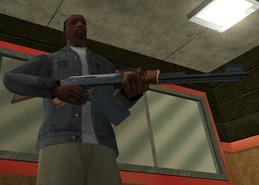 CJ Com Sua AK47