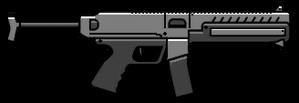 Combat PDW HUD GTA V PC