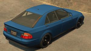 Sultan GTA IV (vue arrière)