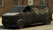 Declasse Burrito de gang Vue devant GTA The Lost and Damned