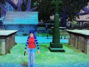 Clementine a temetőben (Colony Island)