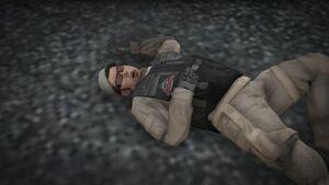 Dead Merryweather soldier