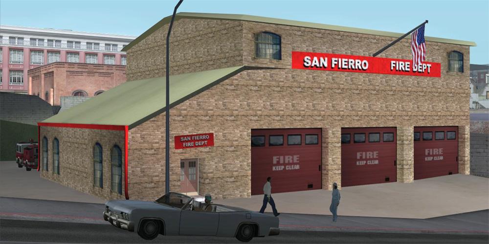 Пожарное депо Сан-Фиерро