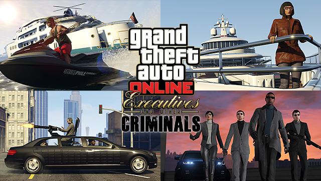 GTA Online: Executivos e Outros Criminosos