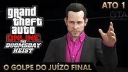GTA Online - O Golpe do Juízo Final ATO 1 Os Vazamentos de Dados (Mestre do Crime IV & Elite)