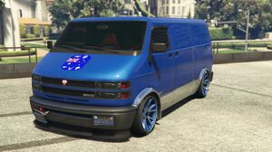 Van of Australian gang
