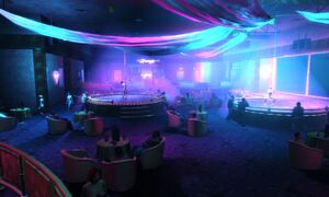 Triangle Club interior