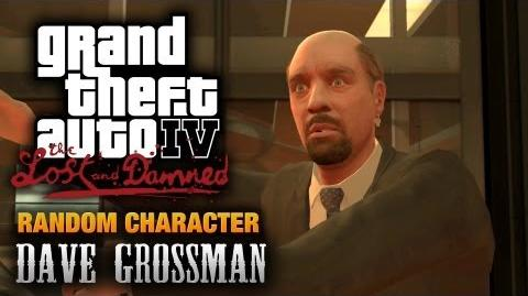 GTA- The Lost and Damned - Random Character -1 - Dave Grossman (1080p)