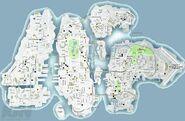GTA IV - Carte de Liberty City