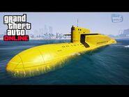 GTA Online - Kosatka Submarine Gameplay and Showcase -The Cayo Perico Heist-