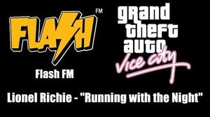"""GTA Vice City - Flash FM Lionel Richie - """"Running with the Night"""" PS2"""