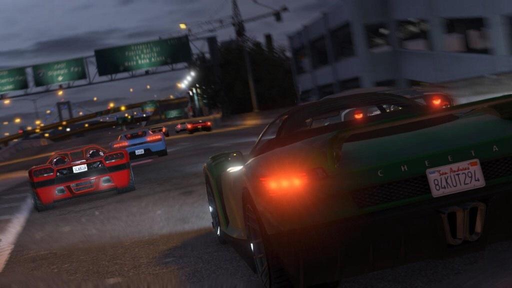 Corridas do GTA Online