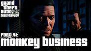 Grand Theft Auto V (PS3) - Fazendo Macaquices - Legendado em Português