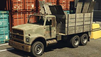 Caminhão de sucata
