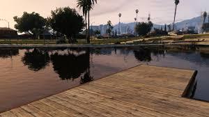 Jezioro w Parku Mirror