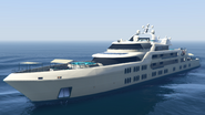 Yacht Aquarius - GTA Online