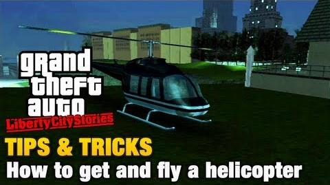 GTA Liberty City Stories - Tips & Tricks - How to get and fly a helicopter