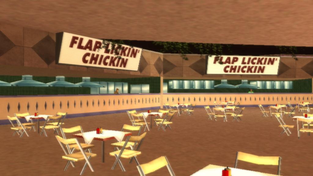 Flap Lickin' Chickin