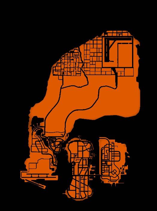 Штат Либерти вселенной 3D