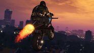 Gunruning rocket bike