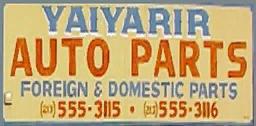 Yaiyarir Auto Parts
