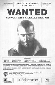 Niko Bellic most wanted
