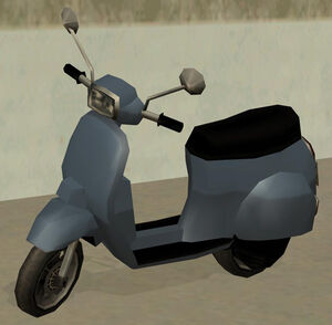 Faggio GTA San Andreas (monochrome)