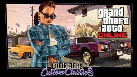 Grand Theft Auto Online Lowriders on astique les classiques
