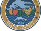 Округ Блэйн