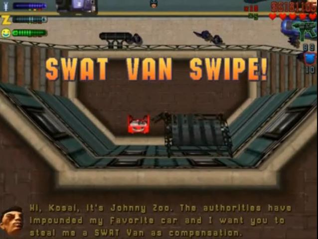 SWAT Van Swipe!
