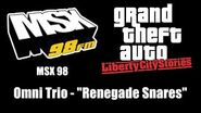 "GTA Liberty City Stories - MSX 98 Omni Trio - ""Renegade Snares"""