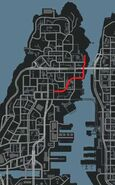 Applewhite Street Carte GTA IV